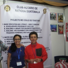 Antigua Rotary Project Fair 2014 Guatemal